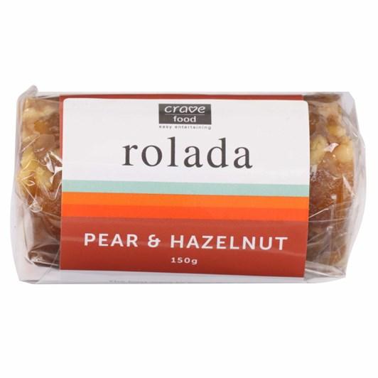 Sassy Foods Small Pear & Hazelnut Rolada 150g