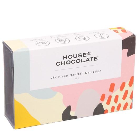 House of Chocolate BonBon Selection 6 Piece