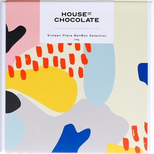 House of Chocolate BonBon Selection 16 Piece
