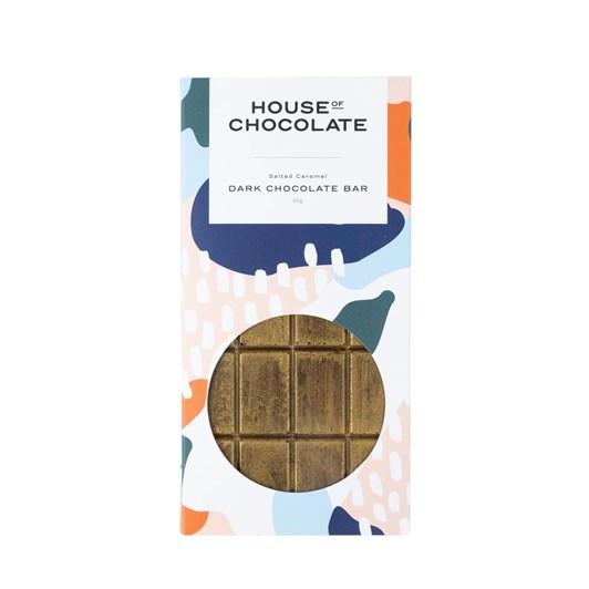 House of Chocolate Salted Caramel Chocolate Bar 85g