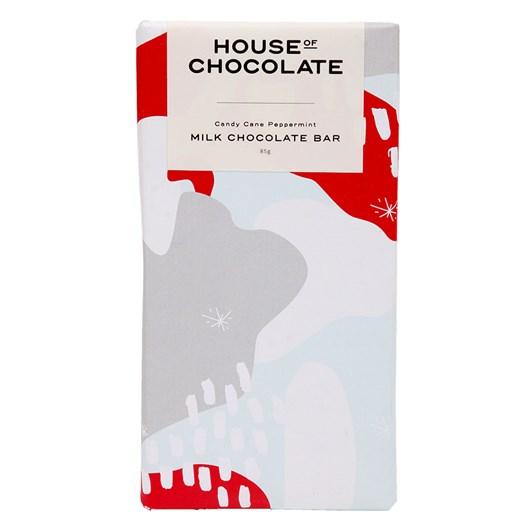 House of Chocolate Candy Cane Chocolate Bar