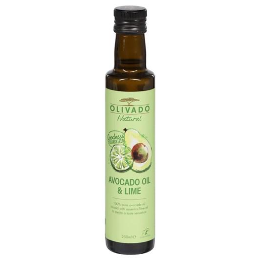 Olivado Lime Infused Avocado Oil 250ml