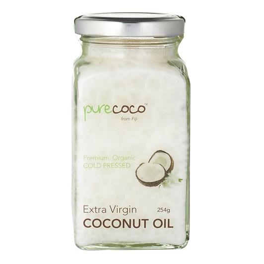 Purecoco Extra Virgin Coconut Oil Glass Jar 254g
