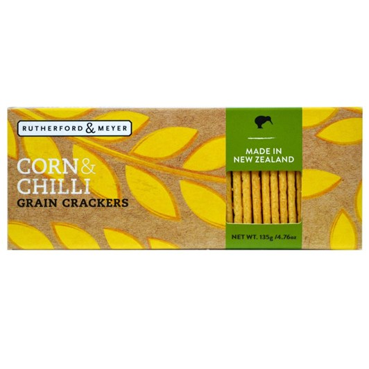 Corn And Chilli Grain Crackers 135g