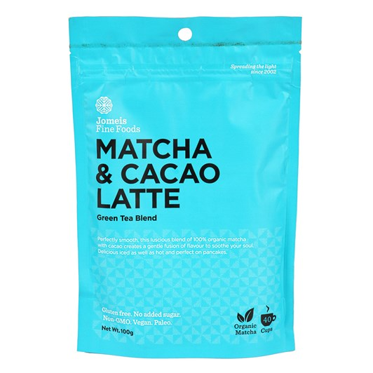 Jomeis Fine Foods Matcha & Cacao Latte 100g