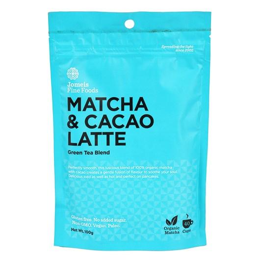 Jomeis Fine Foods Matcha & Cacao Latte 100g
