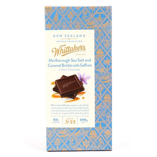 Whittaker's Seasalt & Caramel Saffron 100g