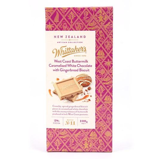 Whittaker's Buttermilk & Gingerbread 100g