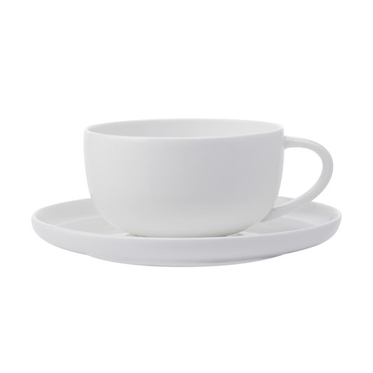 Maxwell & Williams Cashmere High Rim Cup & Saucer 300ml