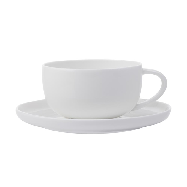 Maxwell & Williams Cashmere High Rim Cup & Saucer 300ml -
