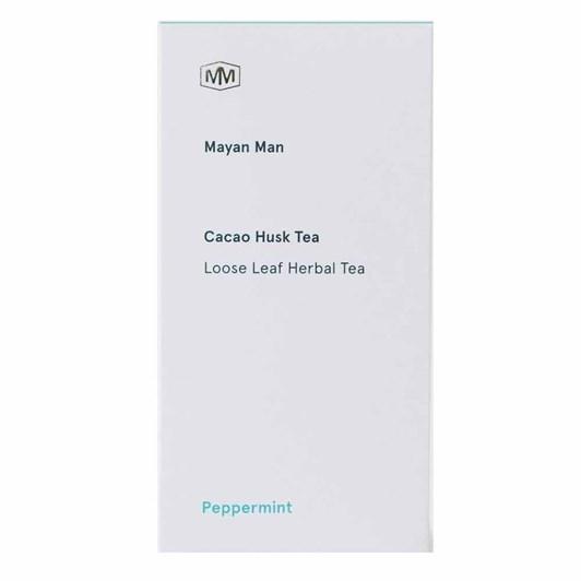 Mayan Man Cacao Husk Peppermint Tea Bags Box of 15