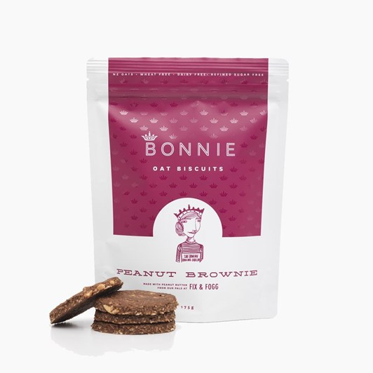 Bonnie Oat Biscuits Peanut Brownie 175g