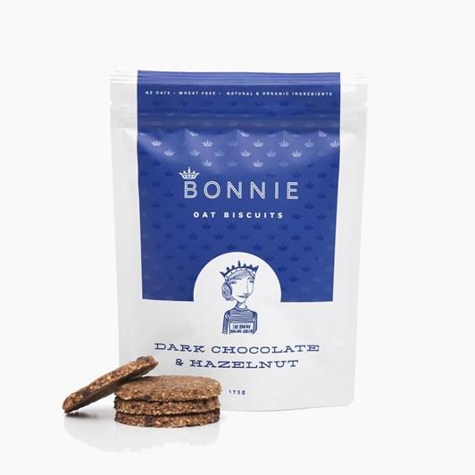 Bonnie Oat Biscuits Dark Chocolate And Hazelnuts 175g