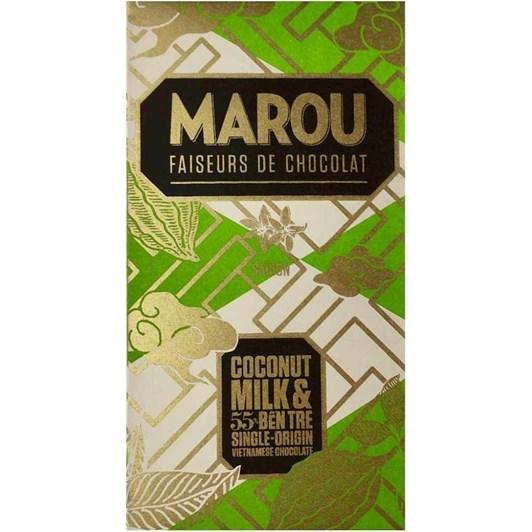 Marou Coconut Milk 55% Ben Tre (Silver) 80g