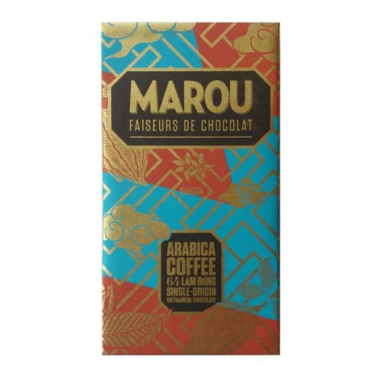 Marou Arabica Coffee 64% Lam Dong (Gold) 80g