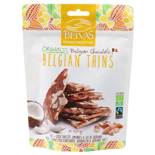 Belvas Thins Milk 120g