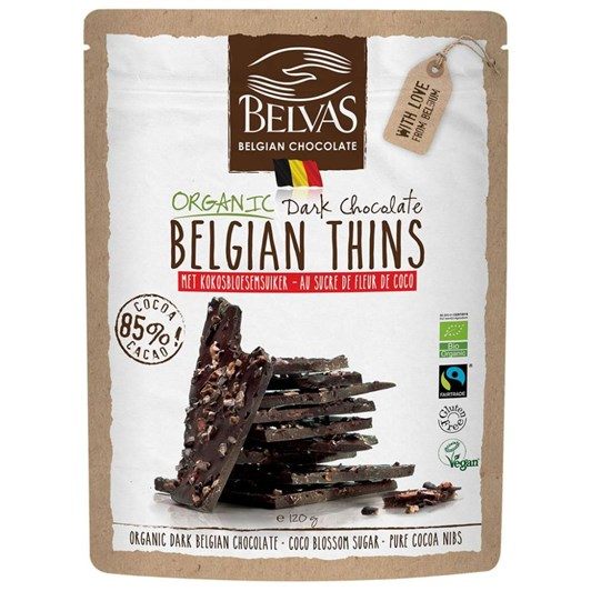 Belvas Thins Dark 120g