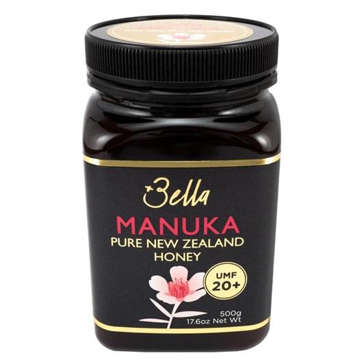 UMF® 20+ Bella New Zealand Manuka Honey 500g