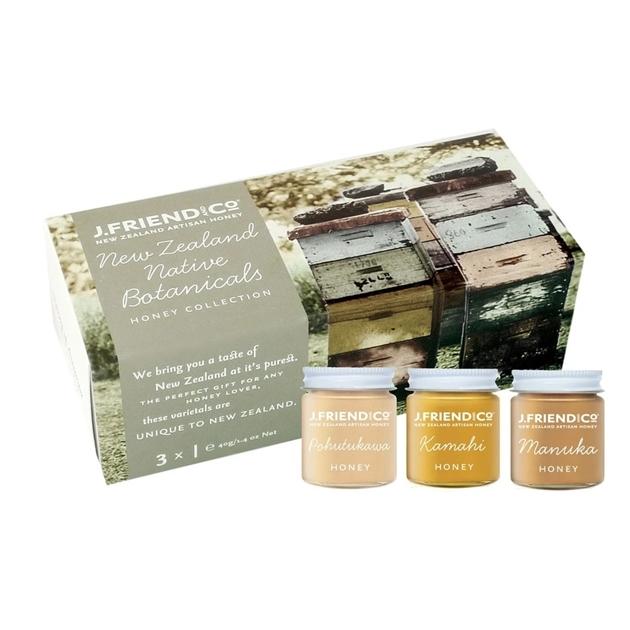 NZ Artisan Honey Pairing Collection Premium Gift Pack - nz native botanic