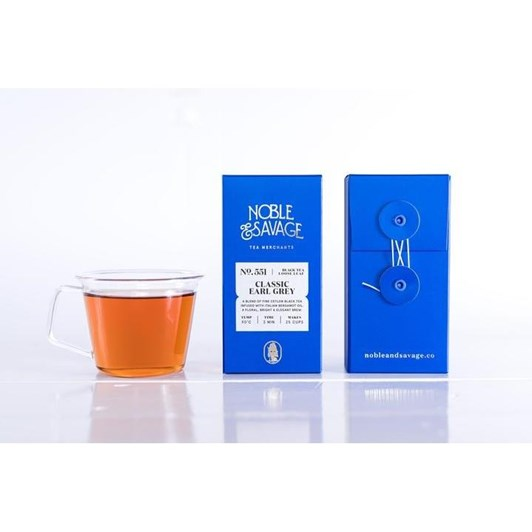 Noble & Savage Classic Earl Grey 55g
