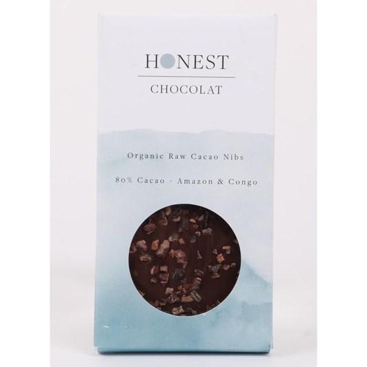 Honest Chocolat 80% Cacao Nib