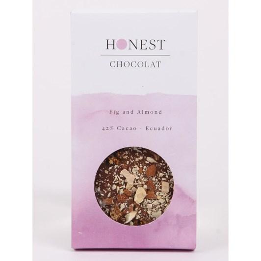Honest Chocolat 42% Milk Fig & Almond