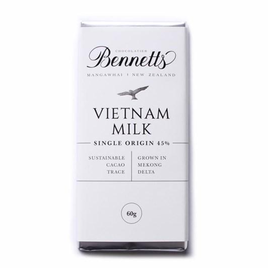 Bennetts Of Mangawhai Milk Chocolate Bar 60g
