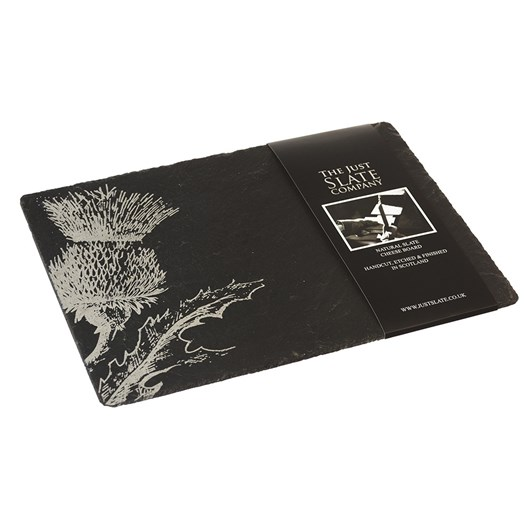 Just Slate Thistle Place Mats X2
