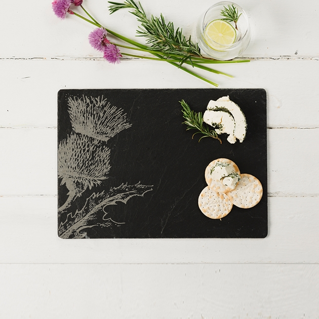 Just Slate Thistle Place Mats X2 - na