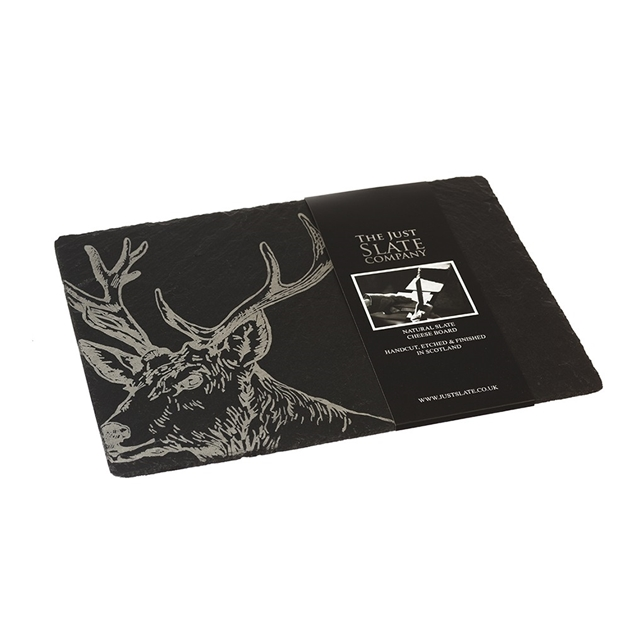 Just Slate Stag Cheese Board -