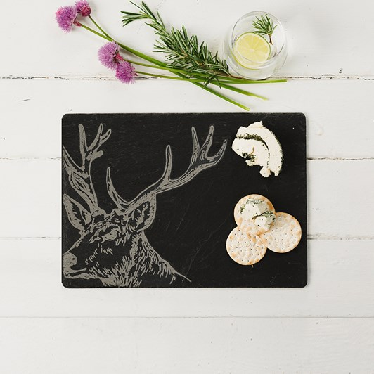Just Slate Stag Cheese Board