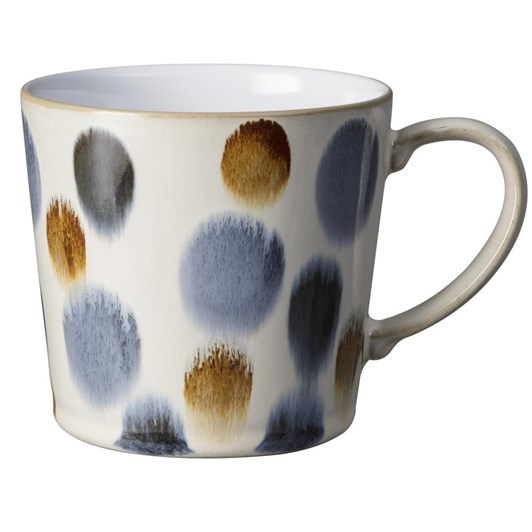 Denby Spot Mug Brown 400Ml