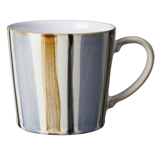 Denby Stripe Mug Brown 400Ml