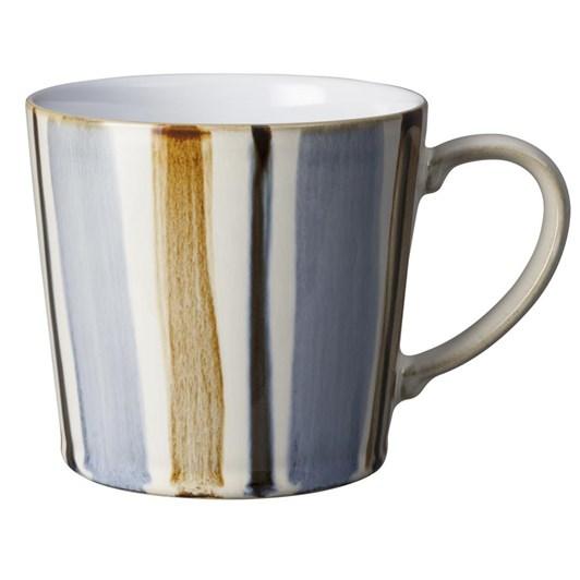 Denby Stripe Mug Brown 400Ml