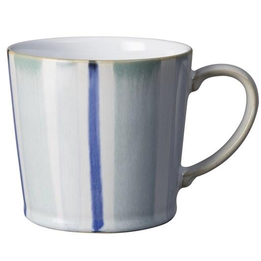 Denby Stripe Mug Blue 400Ml