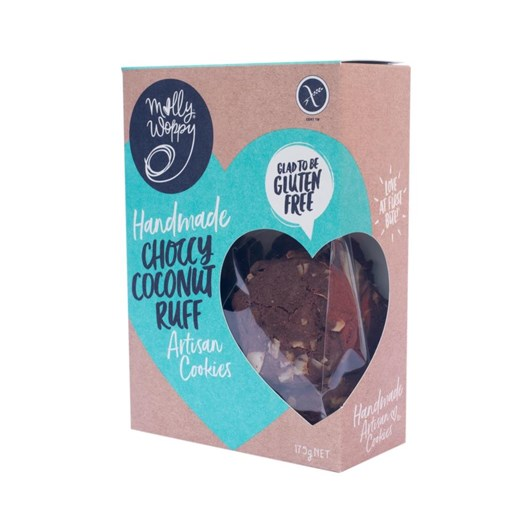 Molly Woppy Choccy Coconut Rough Cookie (Gluten Free) 175g
