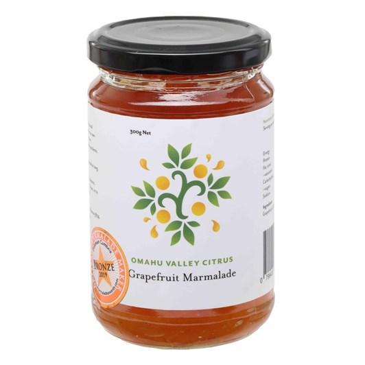Omahu Valley Citrus Grapefruit Marmalade 300g