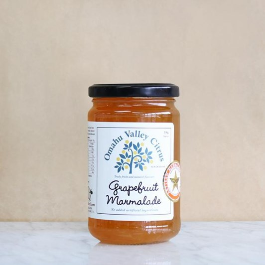 Omahu Valley Citrus Grapefruit Marmalade 300g