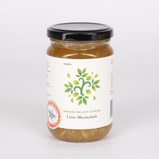 Omahu Valley Citrus Lime Marmalade 300g
