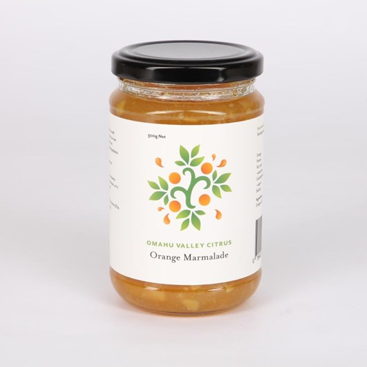 Omahu Valley Citrus Orange Marmalade 300g