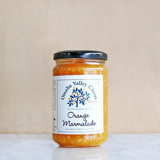 Omahu Valley Citrus Seville Orange Marmalade 300g