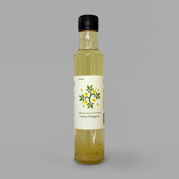 Omahu Valley Citrus Lemon Vinaigrette 250ml -