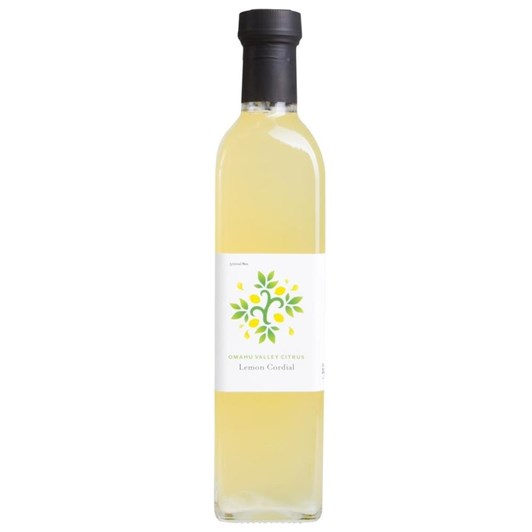 Omahu Valley Citrus Lemon Cordial 500ml