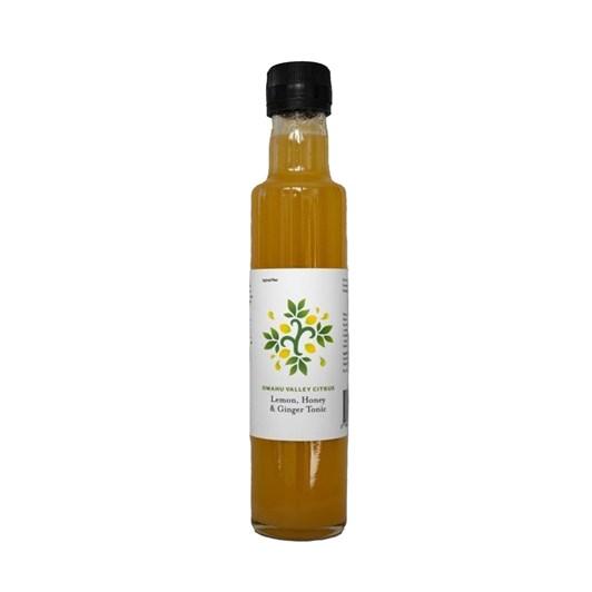 Omahu Valley Citrus Lemon, Honey & Ginger Tonic 250ml