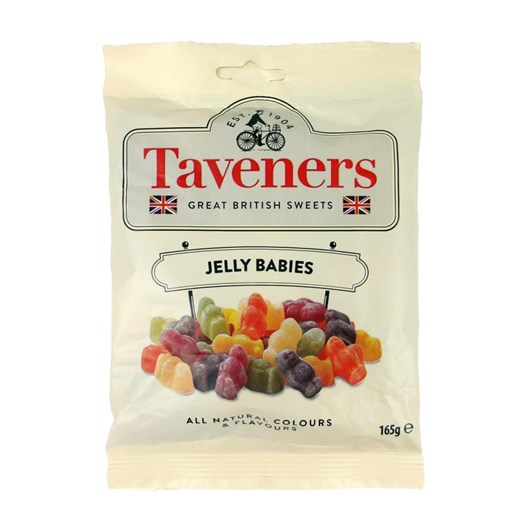 Taveners Great British Sweets Jelly Babies 165g