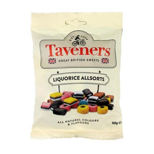 Taveners Great British Sweets Liquorice Allsorts 165g
