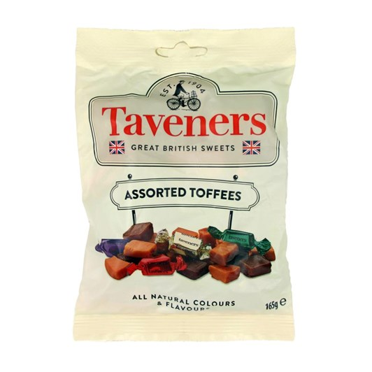 Taveners Great British Sweets Toffees 165g