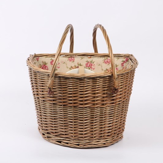 Willow Direct Bicycle Picnic Basket