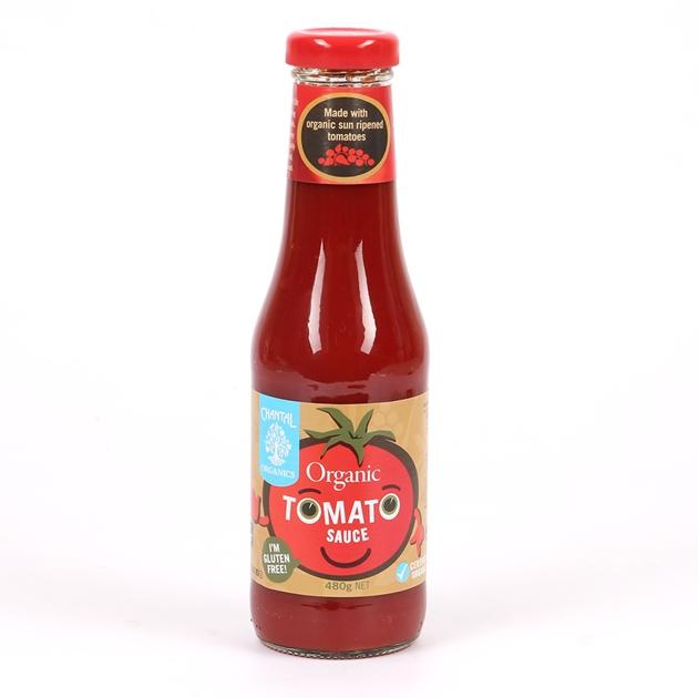 Chantal Organic Tomato Sauce 480g -
