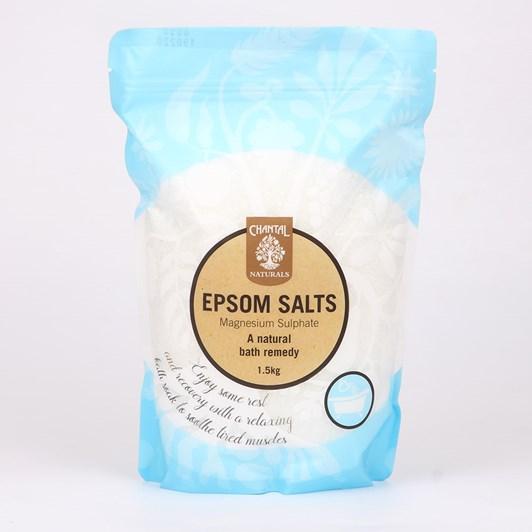 Chantal Natural Epsom Salts 1.5kg